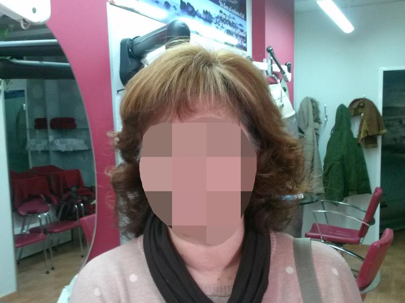 Prótesis de cabello natural